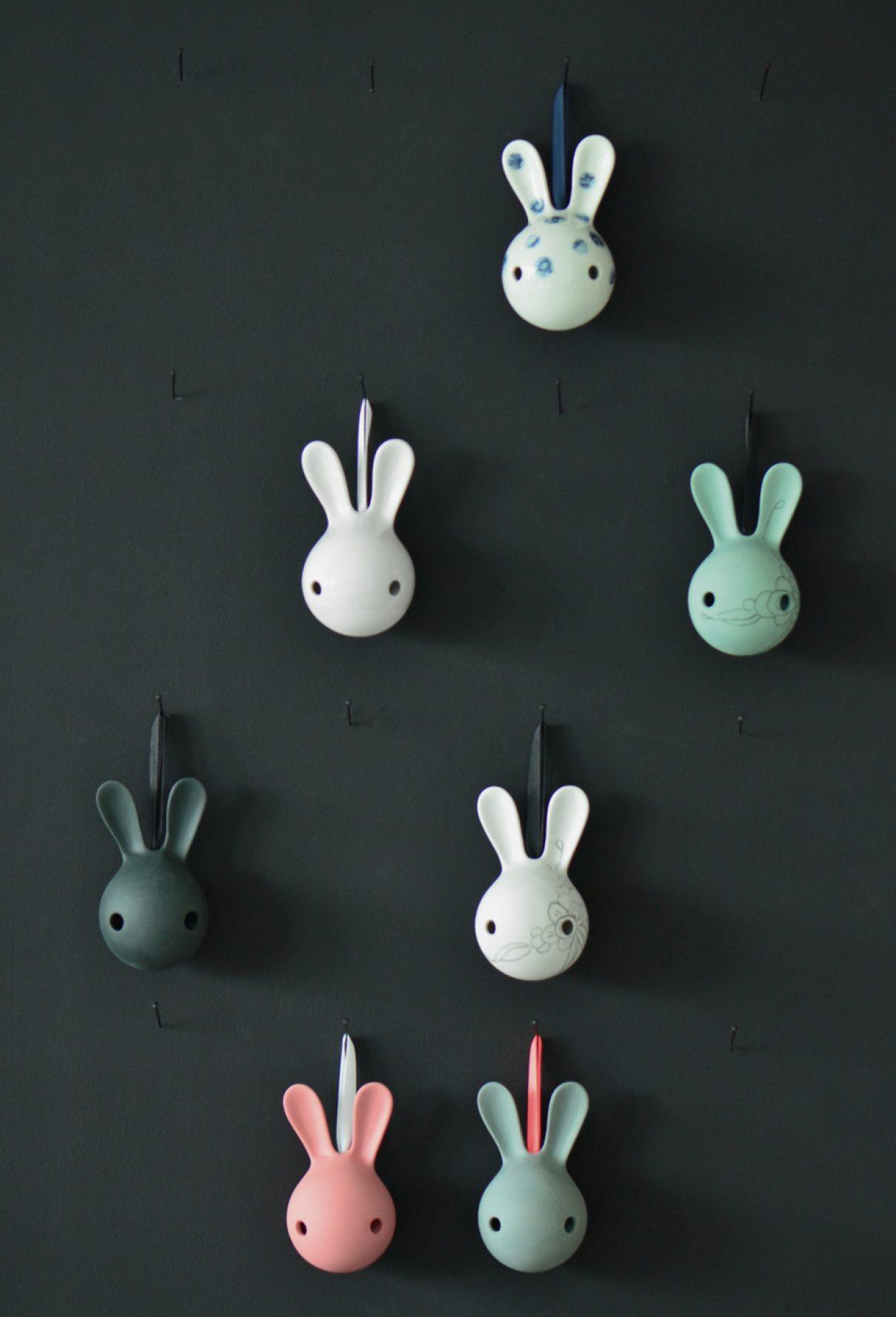 Vrolijke bunny's voor aan je muur