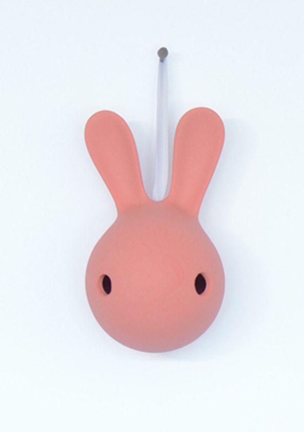Cuniculus L roze konijn wanddecoratie kids JORINE -gimmiishop