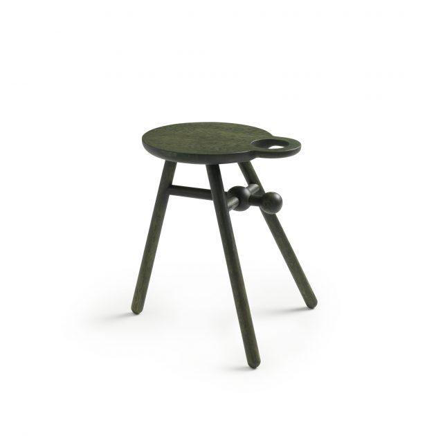 Kranen/Gille krukje bijzettafel Bottle stool 0007