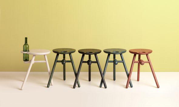 Bottle stool  Kranen/Gille voor Pode