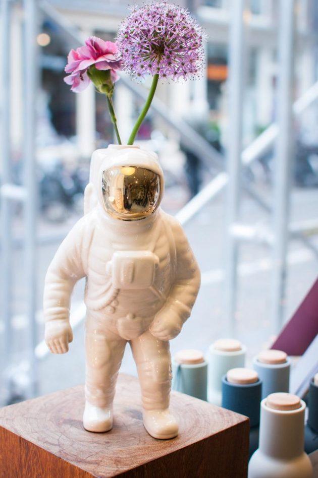 Starman vaas astronaut Diesel Seletti