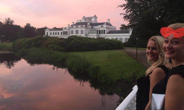 Tjimkje de Boer van KNAP ontwerp & Jolanda Van Goor bij Paleis Soestdijk - photo gimmii