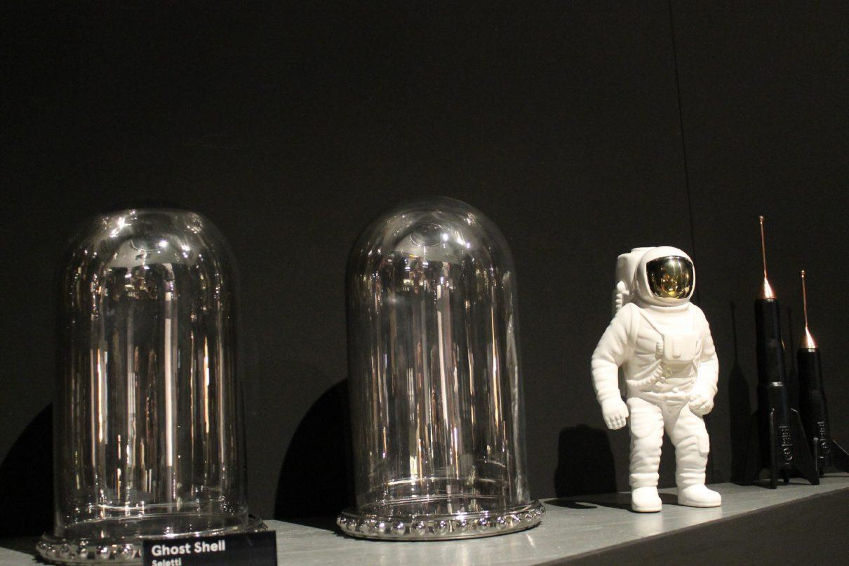 Stoere astronauten vaas Starman