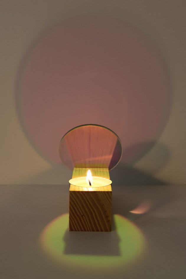 Iridescent filter effect-tealight_holder-Interior_Reflections-ST&VD