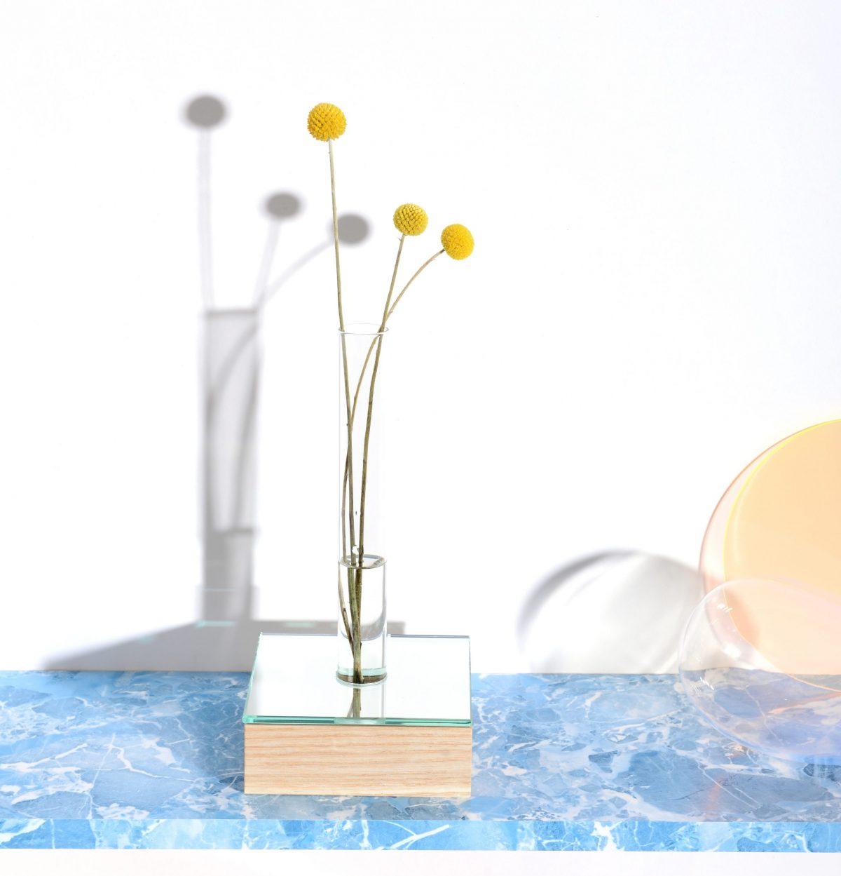 mirror vase Interior Reflections Ash StudioThier&VanDaalen