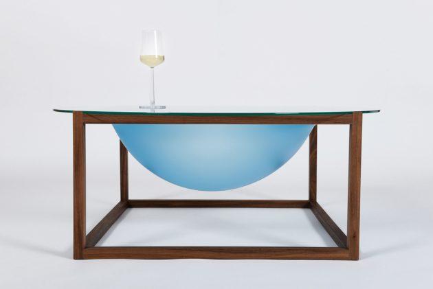 Bubble salontafel glas Studio Thier & vanDaalen