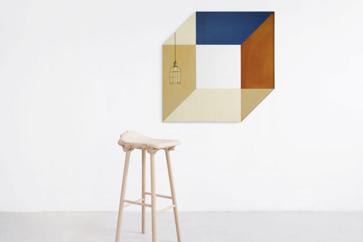 Spiegel kubus Transnatural cubic transience mirror lex pott & david derksen