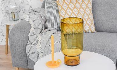 Styling met geel en grijs