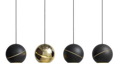 Sliced Sphere hanglampen van Frederik Roijé