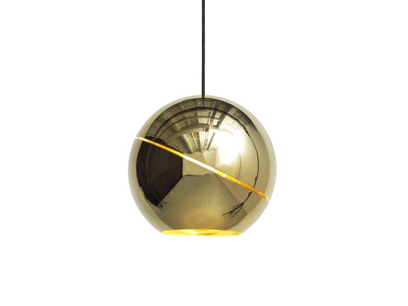 Sliced Sphere goud van Frederik Roijé