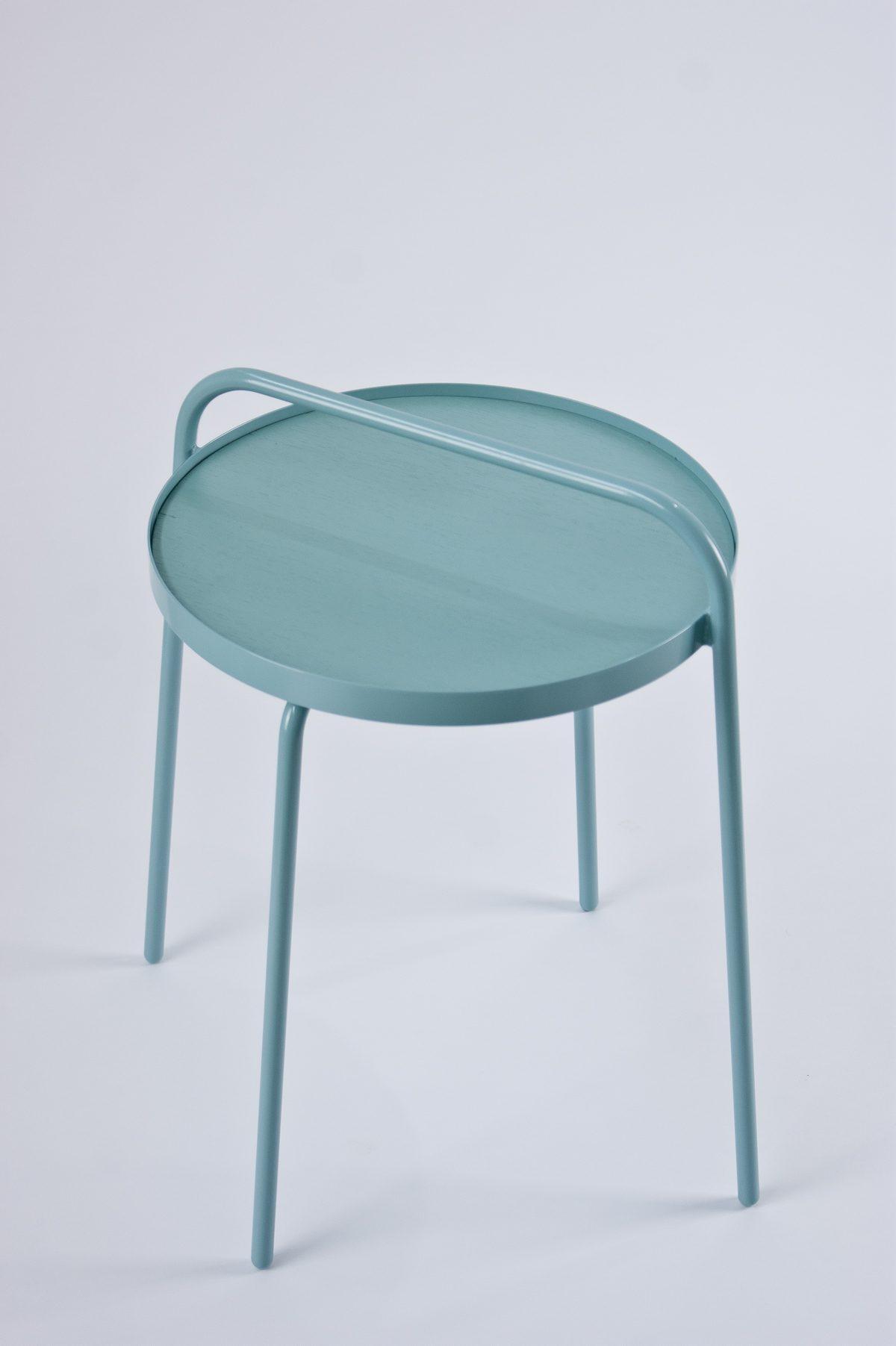 Patrick Hartog Bucket bijzettafel sidetable pastel turquoise – gimmiishop