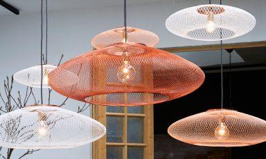 Hemelse UFO lampen