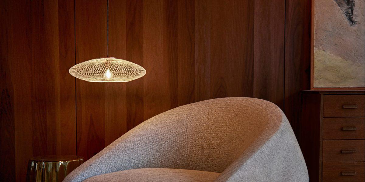 UFO small white wit hanglamp van Atelier Robotiq – gimmii shop