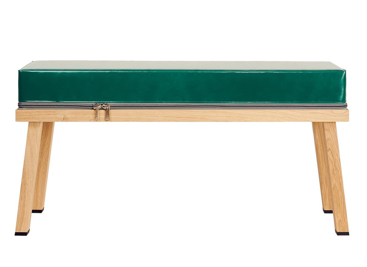 Bankje Truecolors Visser&Meijwaard Bench Green Project Hal