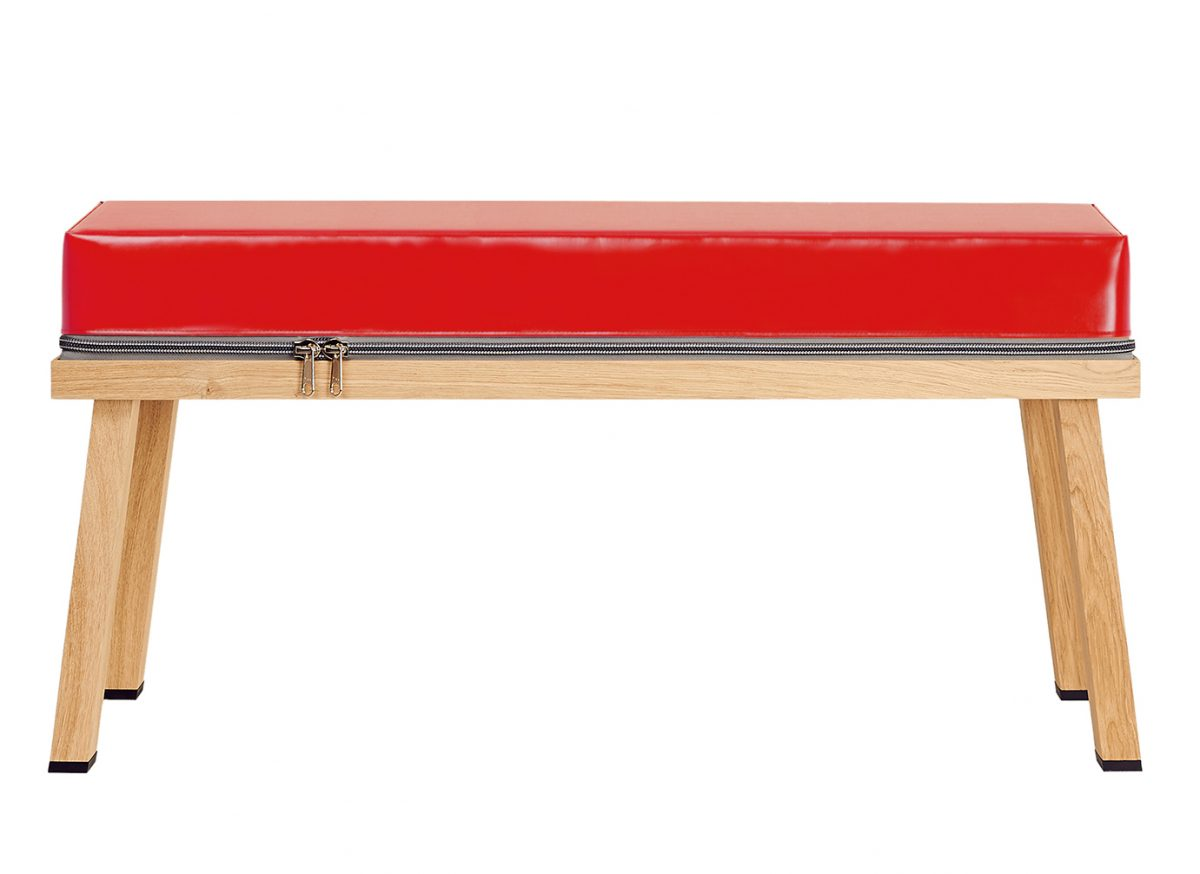 Visser&Meijwaard Truecolors Bankje Bench Red Interior Design