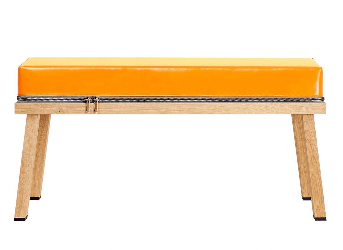 Visser&Meijwaard Truecolors Bench Orange Fun Bankje Design