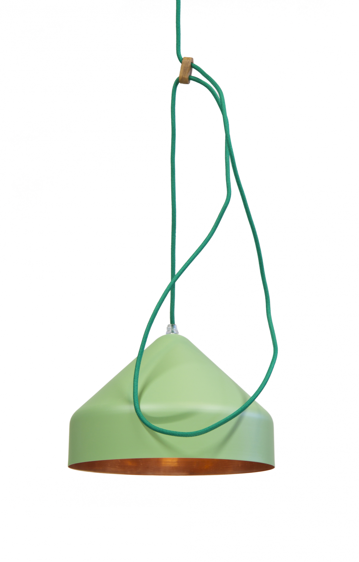 Lloop Lamp Copper Green Koper Groen Vij5 Gimmii