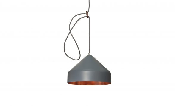 Lloop copper lamp
