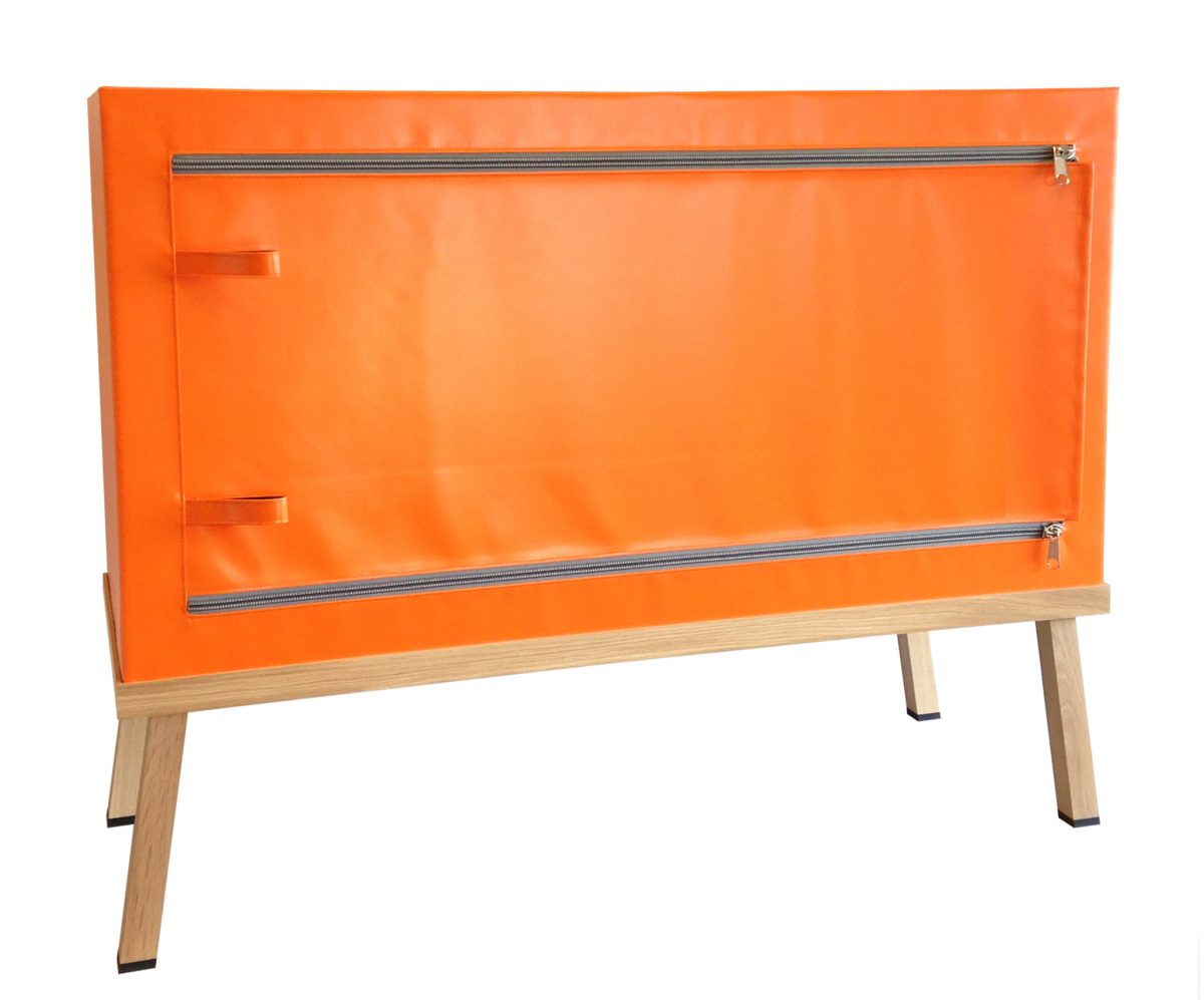 Visser Meijwaard Credenza Orange Dresser Fun Dutch Design Meubel