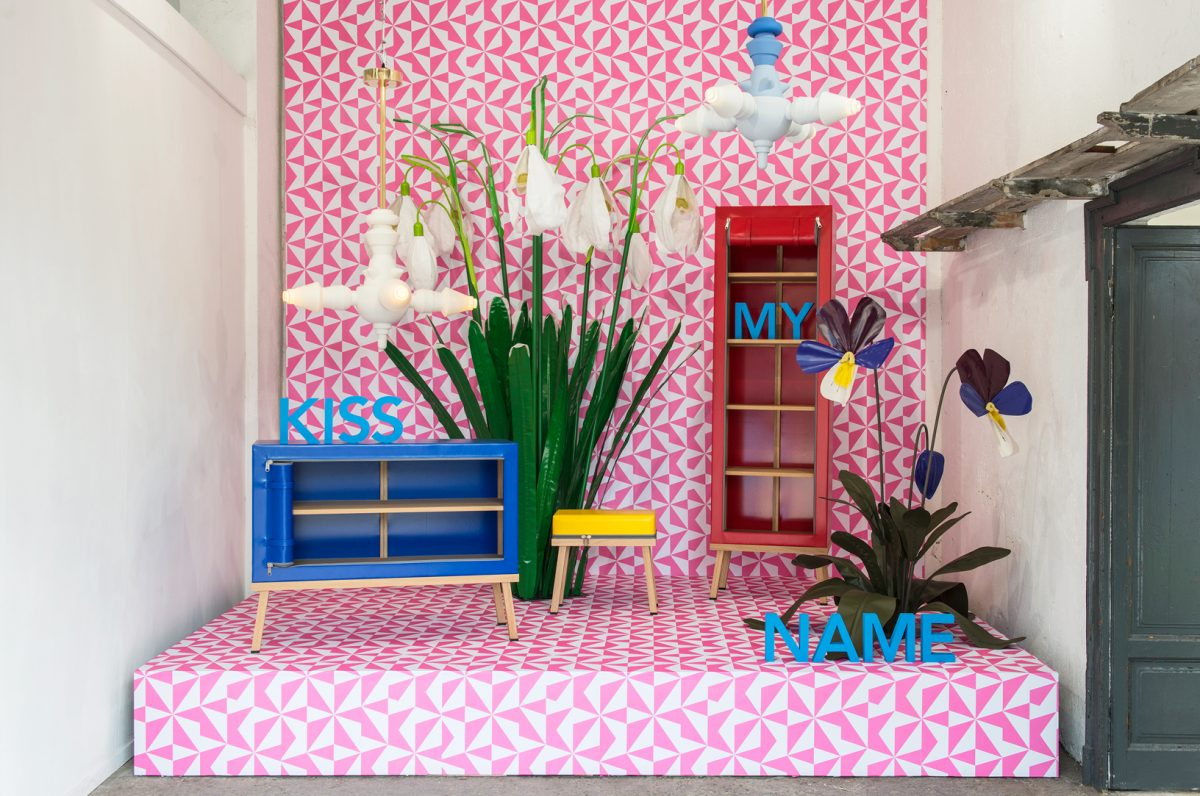 Visser Meijwaard Truecolors Dutch Design Meubels Kiss My Name Milan