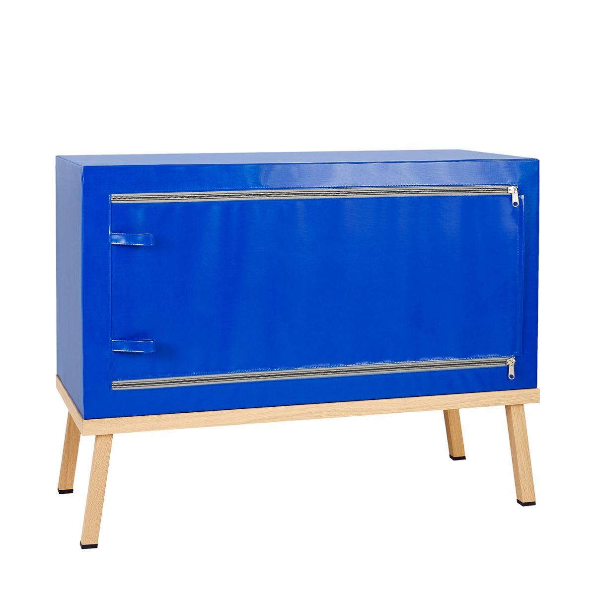 Visser&Meijwaard Dresser Credenza Kast Blauw Dutch Design Meubels