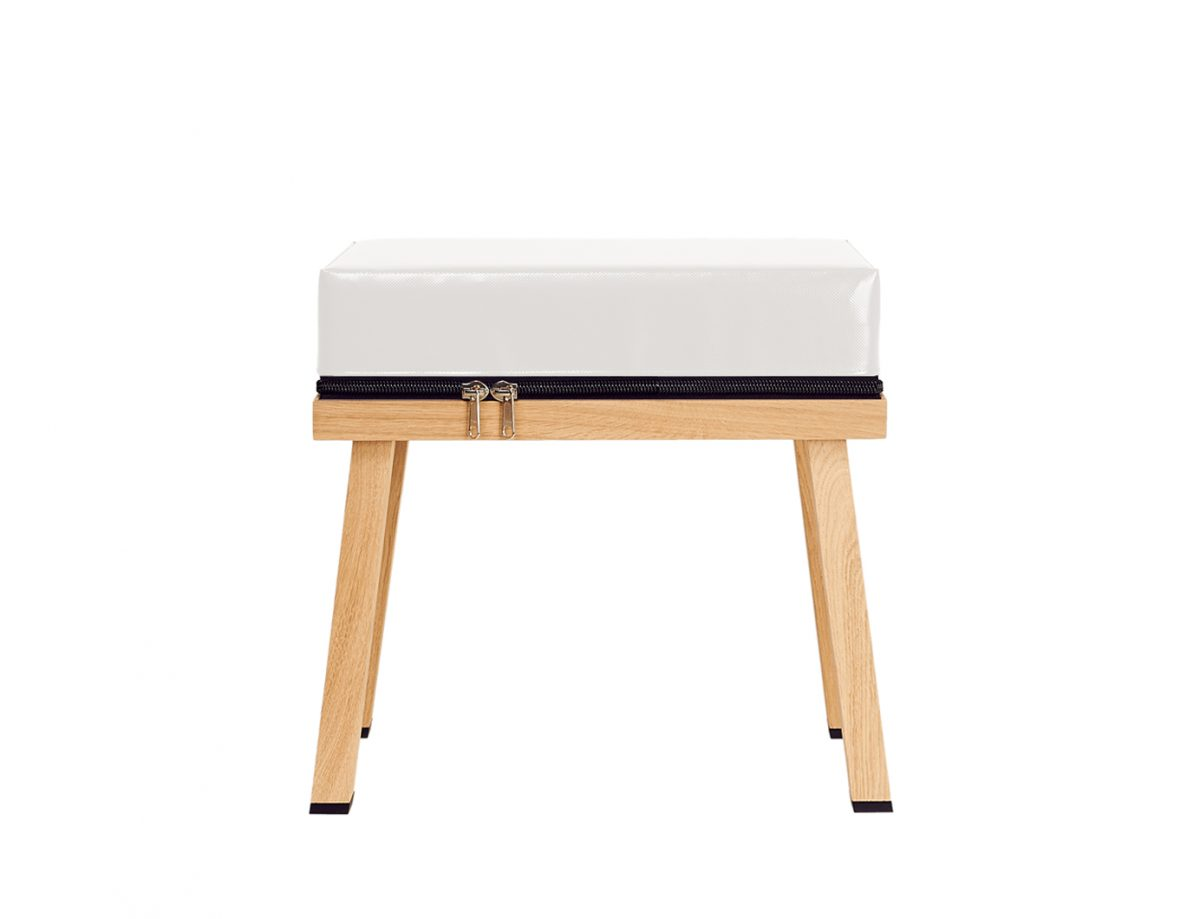 Visser&Meijwaard Kruk Grijs Stool Grey Project Interieur Design