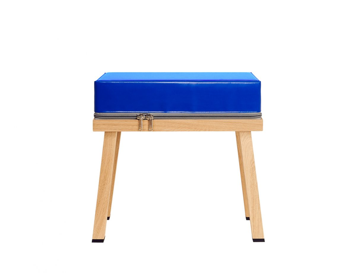 Visser&Meijwaard Truecolors Stool Krukje Blue Fun Dutch Design
