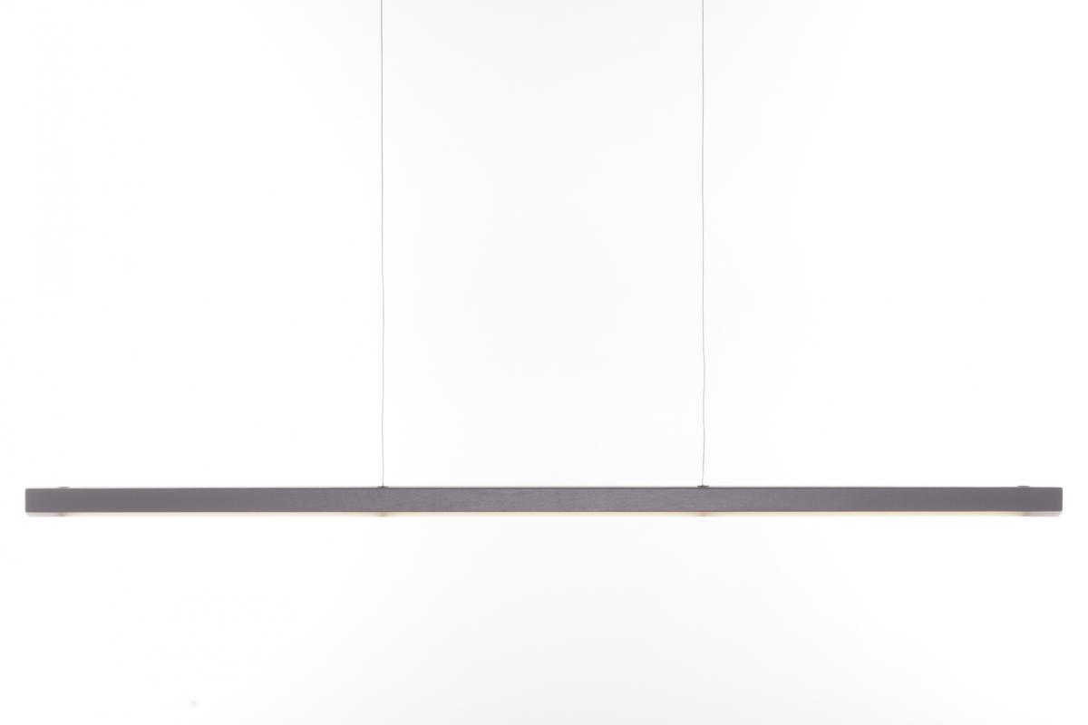 24mm Line Led Pendant Hanglamp Smoke Grey Grijs Gimmii Front