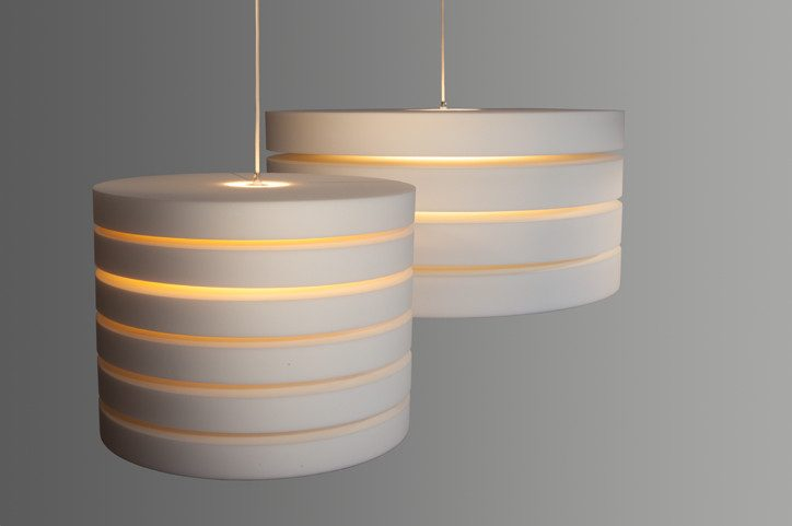Akoestische Lamp Round And Round Verlichting Rond Project