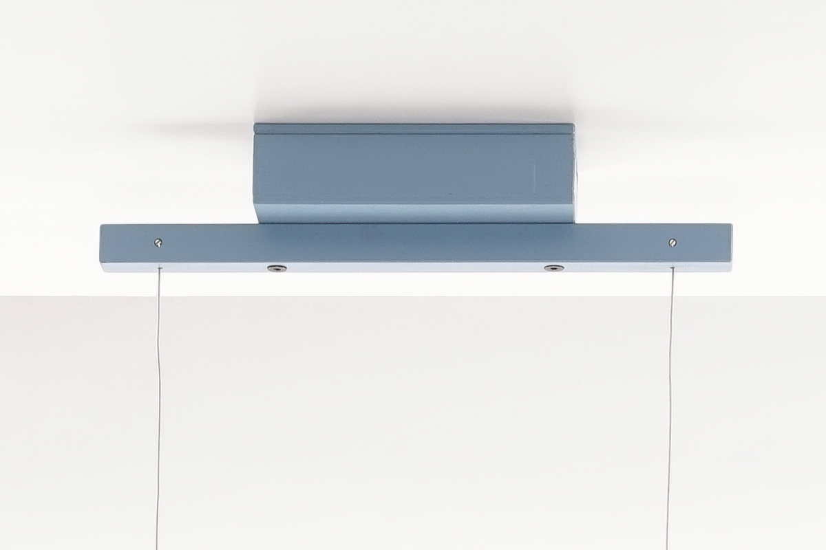 Arend Groosman Line Led Blauw Blue Ceiling Plate Plafondplaat