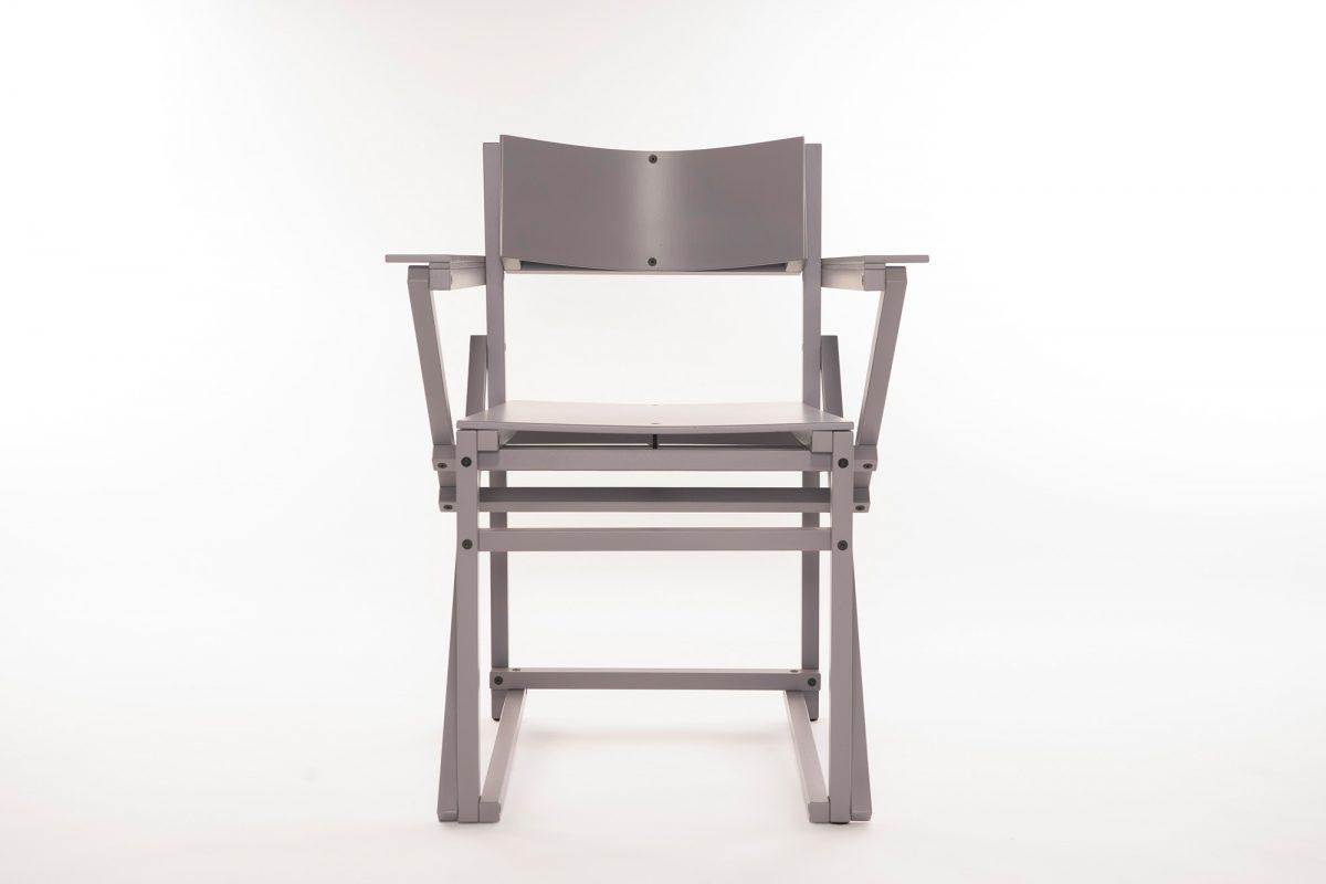 Construct Arm Chair Grey Grijs Stoel 24mm Arend Groosman Gimmii