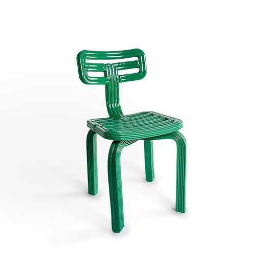 chubby chair dutch design stoel dirk vander kooij groen green