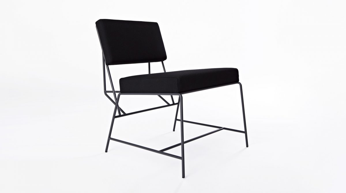 Hensen loungestoel stof
