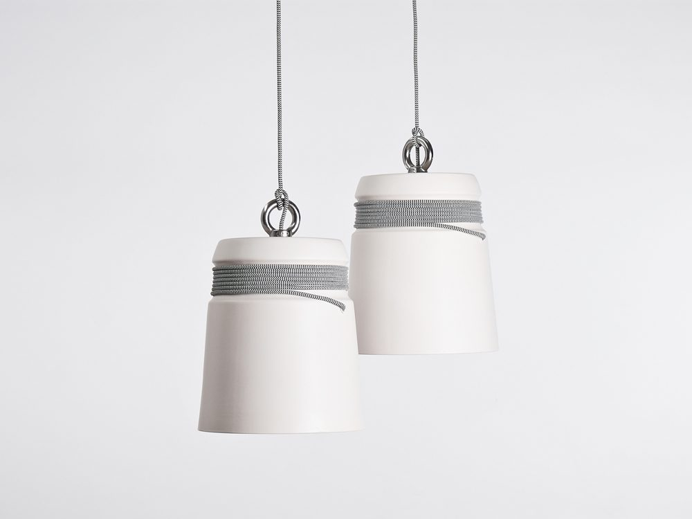 Patrick Hartog Cable Light Large Hanglamp White Wit Set