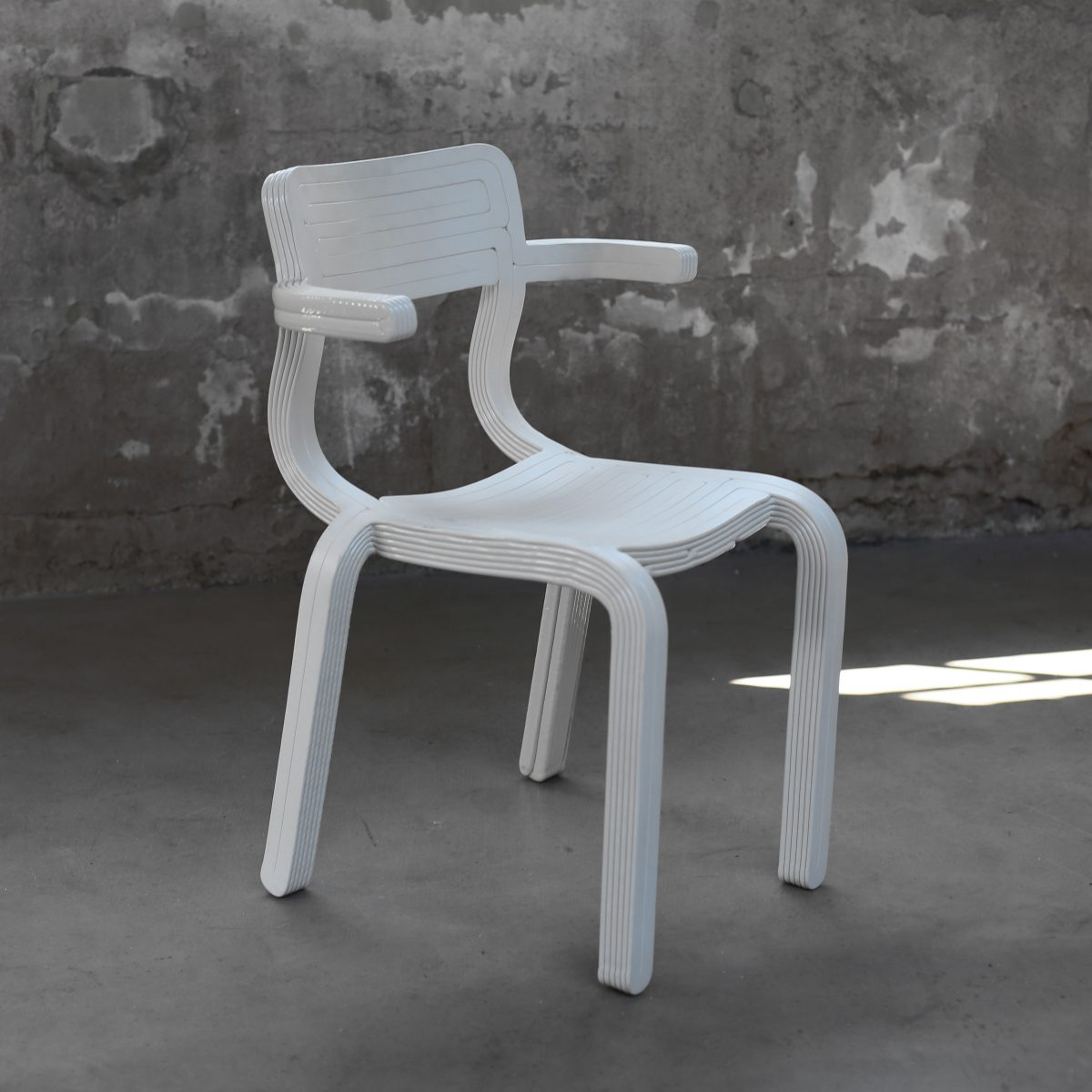 RvR Chair Wit Natural Photo Studio Dirk Vander Kooij