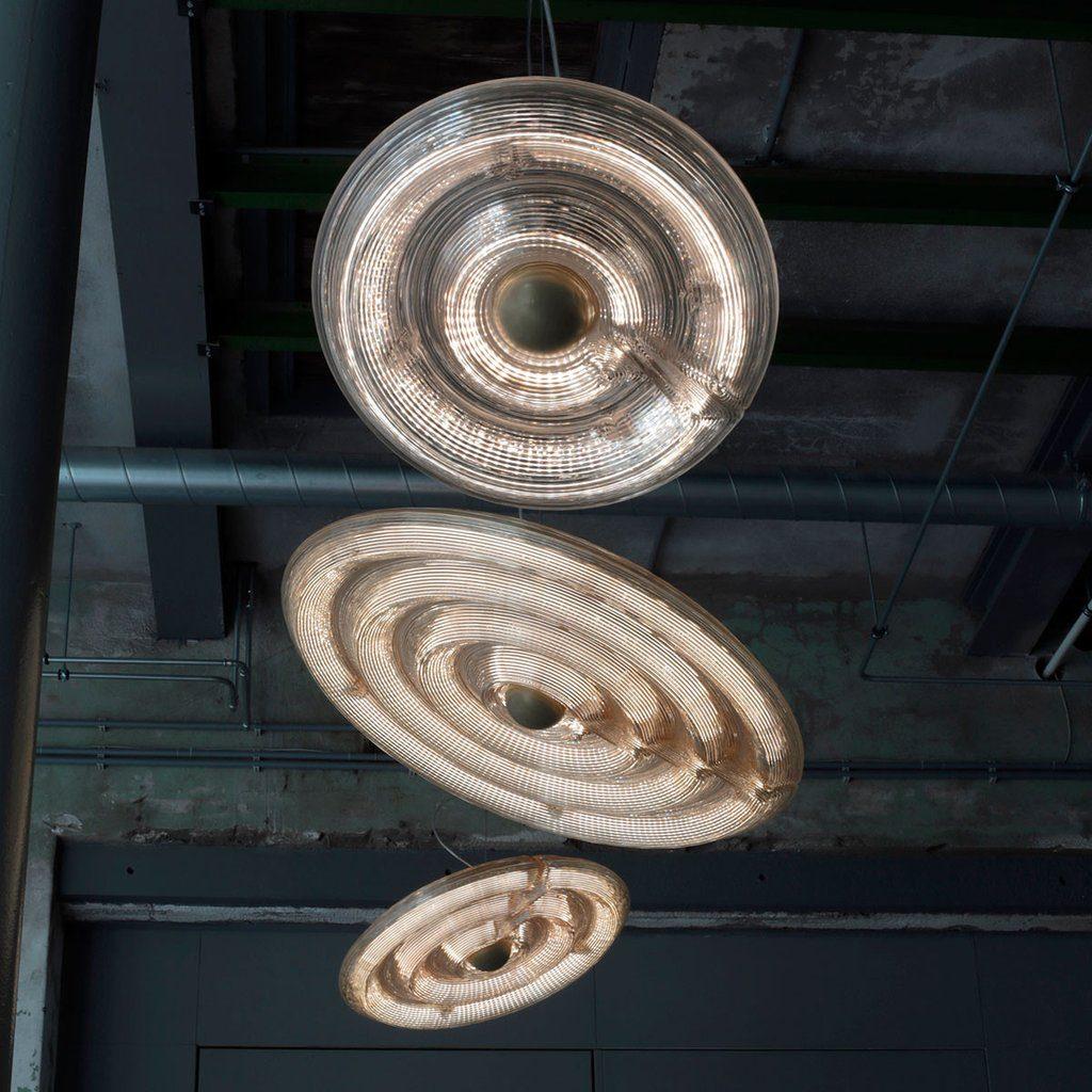 Fresnel Light Hanglamp Lamp 3 Rings Pendant Dirk Vander Kooij 3