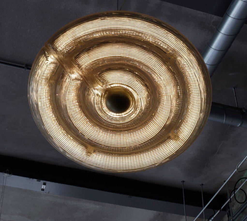 Fresnel Light Hanglamp Lamp 3 Rings Pendant Dirk Vander Kooij 4