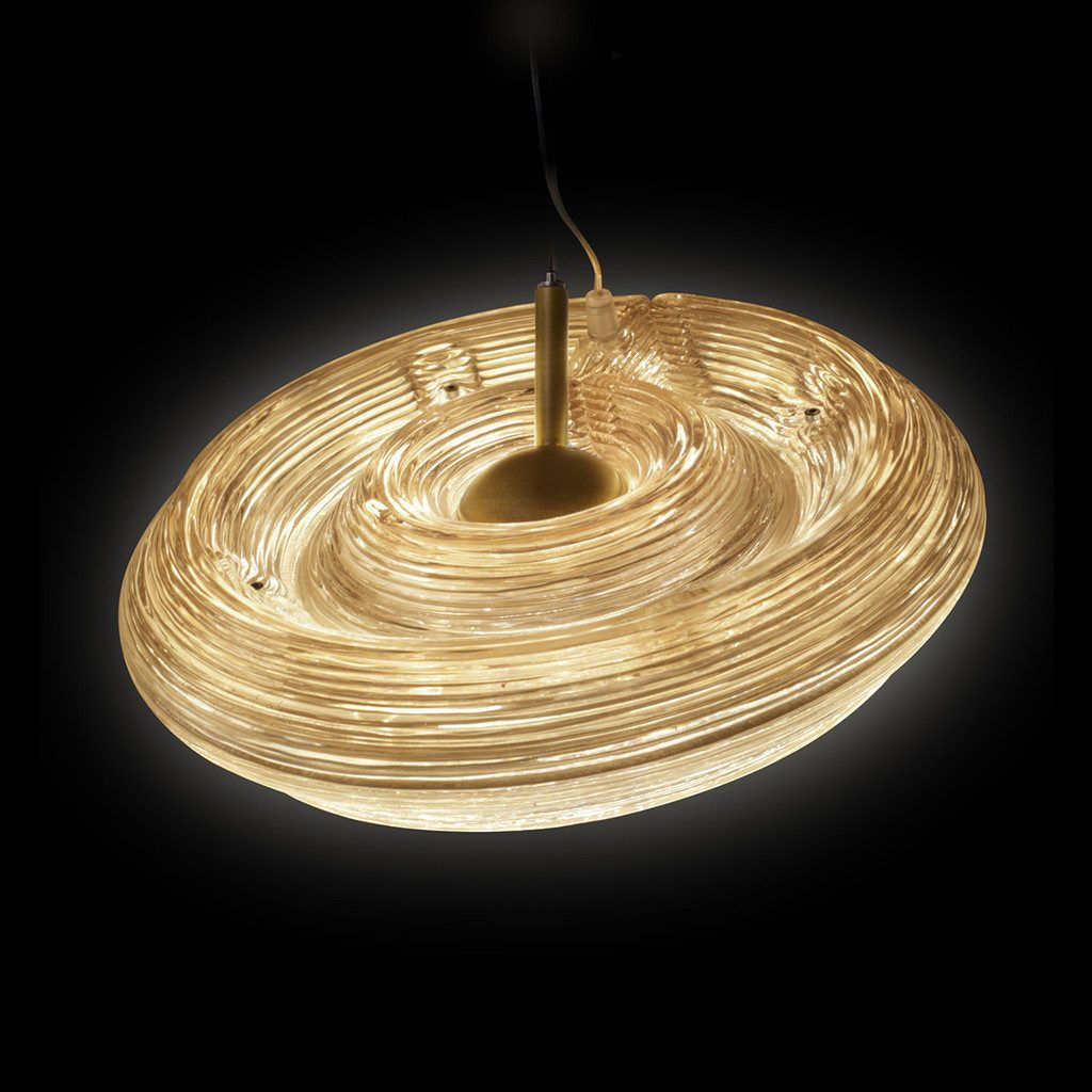 Fresnel Light Lamp 2 Rings Hanglamp Pendant Dirk Vander Kooij 2