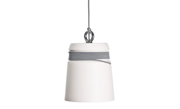 Cable light hanglamp large wit