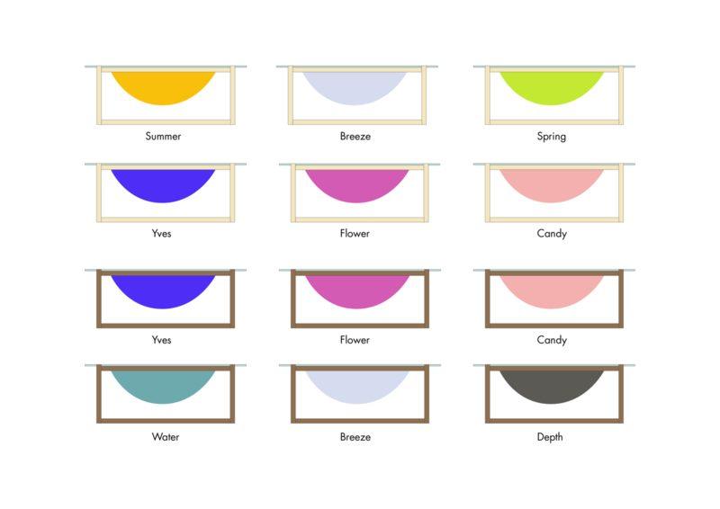Bubble Salontafel Rond Kleuren Mogelijkheden