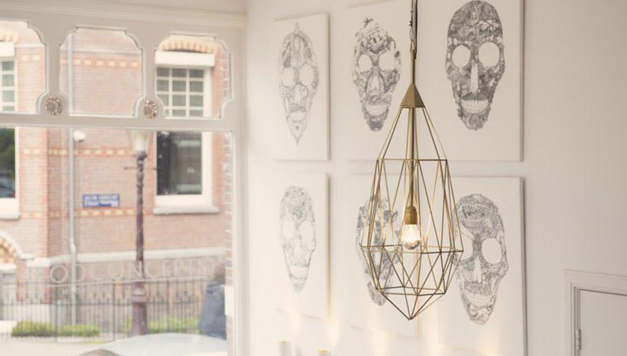 Diamond L Goud Hanglamp Winkel Jspr