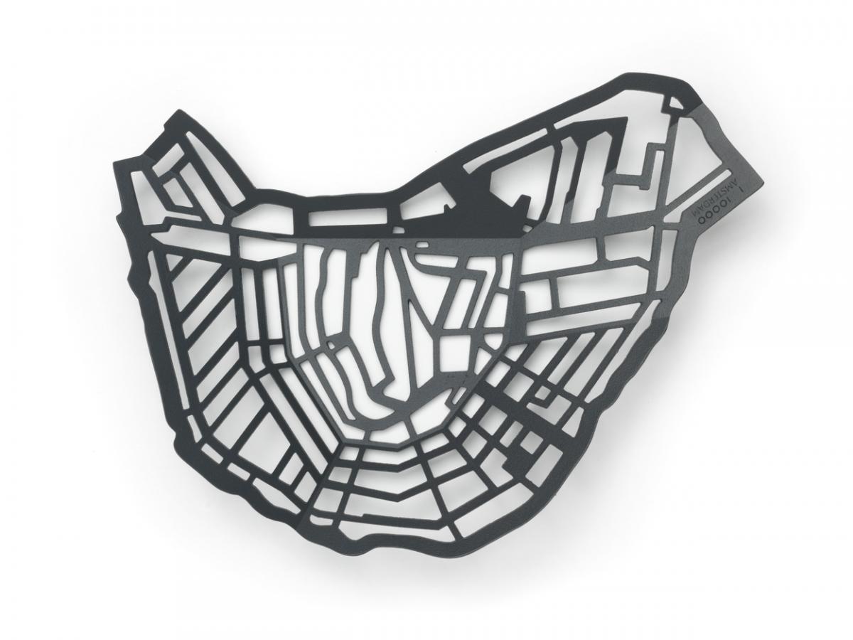 METROBOWL AMSTERDAM Frederik Roije Donkergrijs Schaal Design