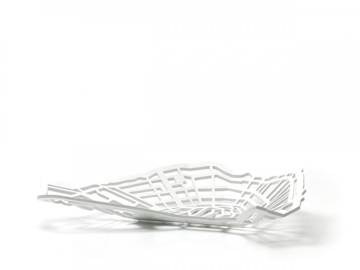 METROBOWL AMSTERDAM Wit Frederik Roije Dutch Design Asseccoire