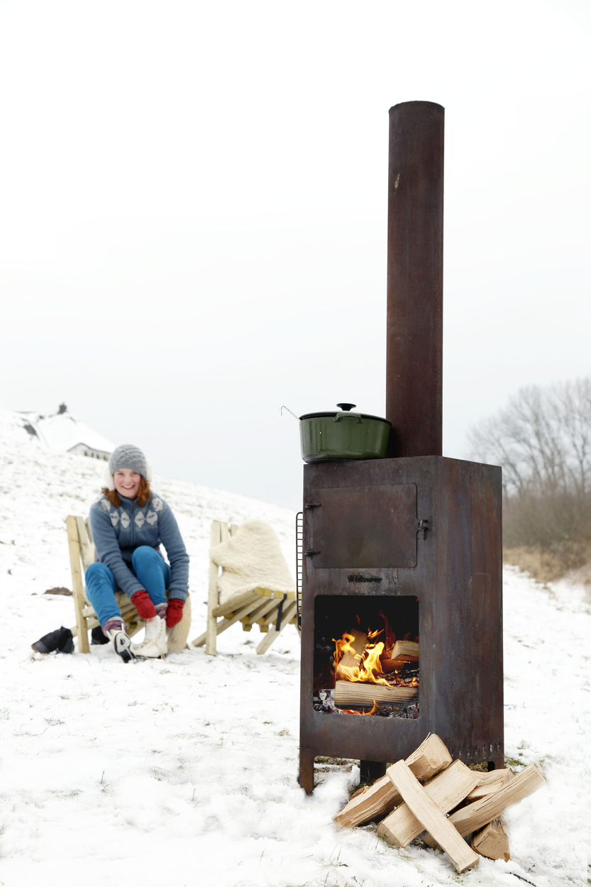 Outdooroven Weltevree Winter Fieldchair