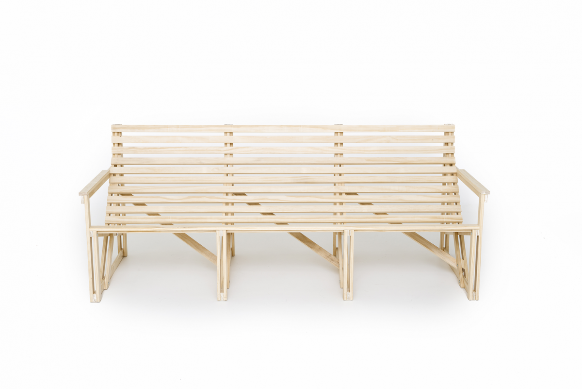 Patio Bank Weltevree Bertjan Pot Luxe Comfort Outdoor Bench