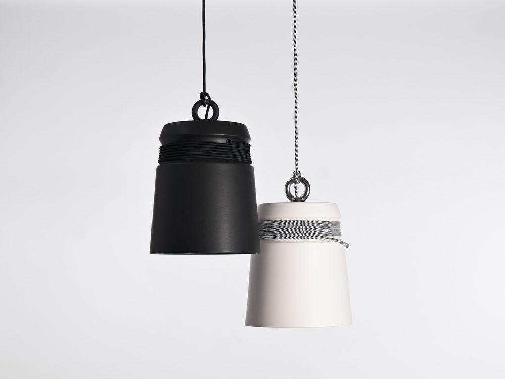 Patrick Hartog Cable Light Large Black White Zwart Wit