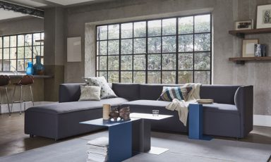 Bank Pillow (8740) kubistisch maar ook 'cozy'