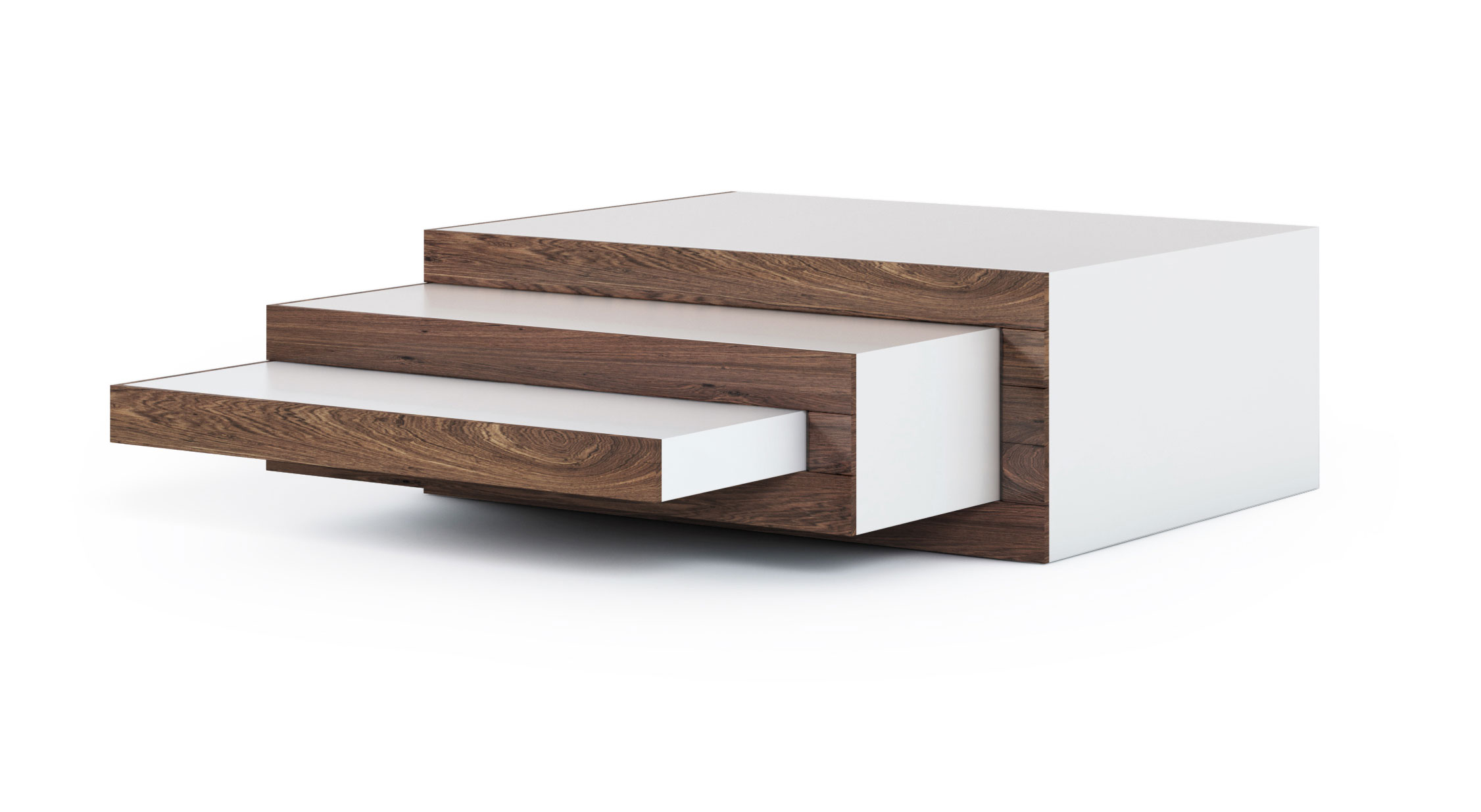 REK Coffee Table Walnut Wood - design Stilst - gimmii shop