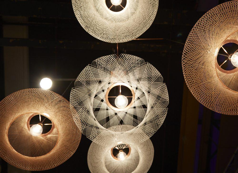 UFO hanglamp open pattern