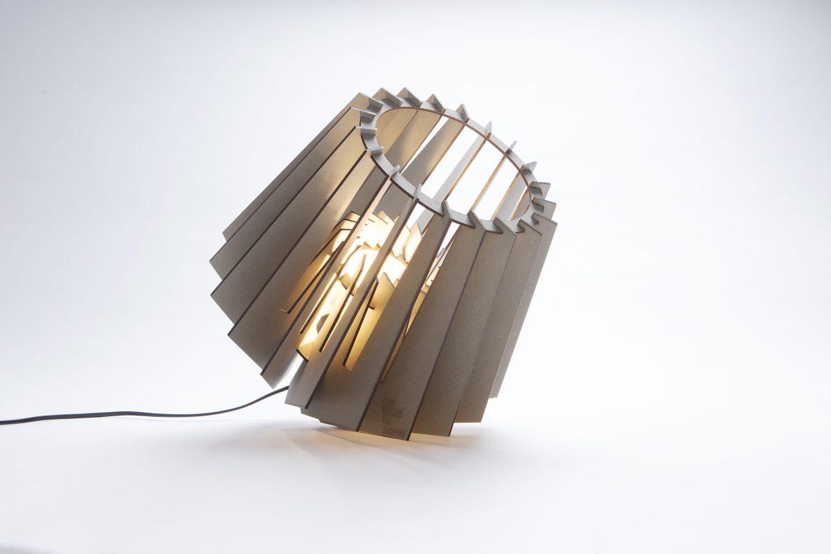 Van Tjalle En Jasper Mini Spot Tafellamp Grijs Dutch Design Verlichting